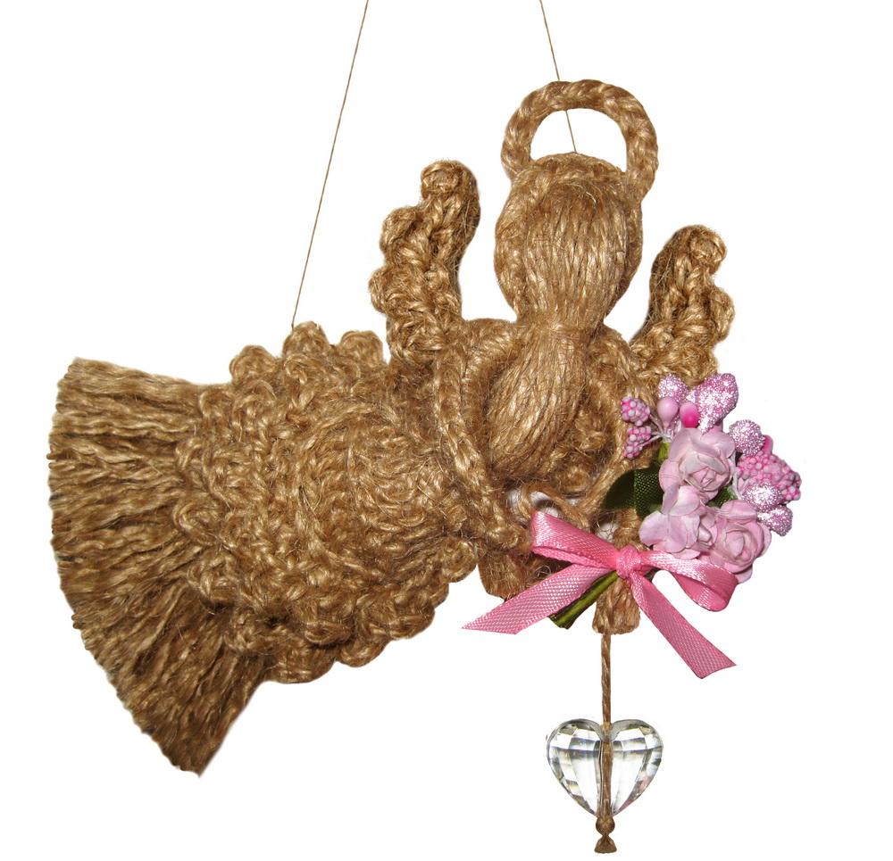 Ангел з квітами і чистим серцем 1